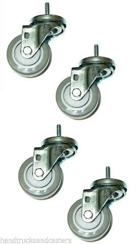 Set of 4 Casters Gray 3