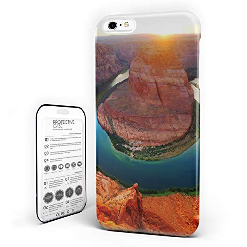 Customize Phone Protective Cover Horse Shoe Bend North Rim Grand Canyon Page Arizona USA Famous Tourist Attractions Ultra Slim Protective Hard Plastic Case Cover for iPhone 6 Plus/6s Plus -