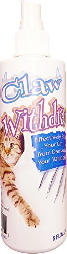Claw Withdraw Cat Scratch Spray Deterrent - 8oz