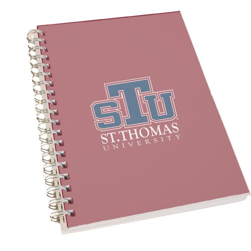St. Thomas Clear 7 x 10 Spiral Journal Notebook 'Official Logo' by CollegeFanGear