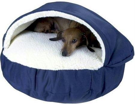 Snoozer Orthopedic Cozy Cave Pet Bed, X-Large, Khaki, My Pet Supplies