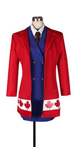 Dreamcosplay Anime Hetalia: Axis Powers Canada Female Uniform Cosplay