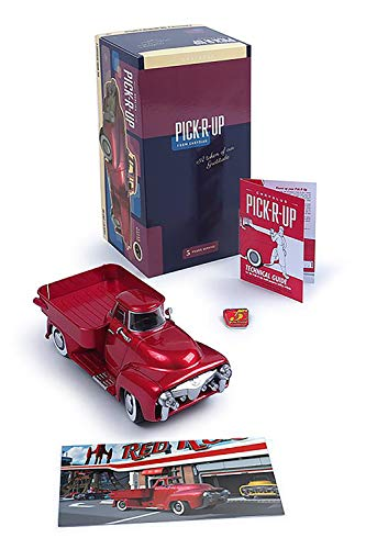 2500 Pickup Hub - Official Limited Edition Pick-R-Up Fallout Pickup Truck - Red (Less Than 2,500 Worldwide)