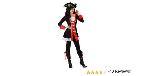 Atosa - Disfraz de pirata para mujer, talla M/L (22916): Amazon.es ...