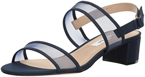 Picture of NINA Women's Ganice Dress Sandal, YM-a Navy, 8.5 M US