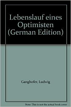 Book Lebenslauf eines Optimisten (German Edition)