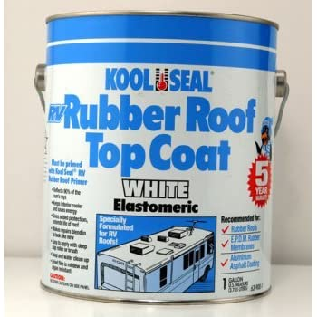 Exceptional Kool Seal RV Rubber Roof Top Coat, 1gal 63 900 1