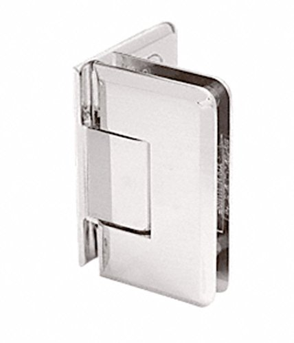 C.R. LAURENCE C0L044BSC CRL Brushed Satin Chrome Cologne 044 Series Wall Mount Offset Back Plate Hinge