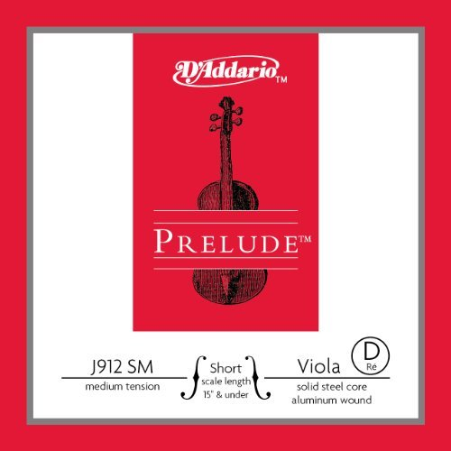 D'Addario Prelude Viola Single D String, Short Scale, Medium Tension (Prelude Viola Strings compare prices)