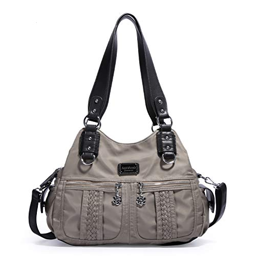 Angel Barcelo Fashion Women's Multi-pocket nylon Handbags Shoulder Bags Totes Purses …