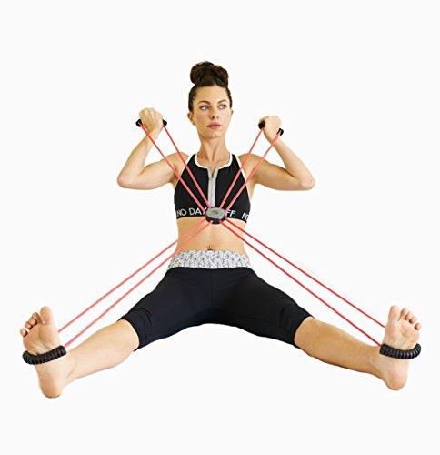 SISYAMA Core Cross Workout Pilates Reformer Exercise