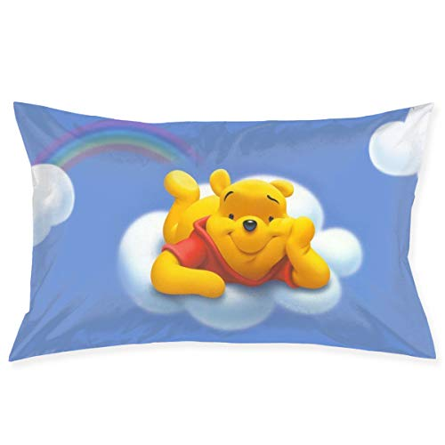 Pillow Cases Flying Winnie Pooh Throw Cushion Covers Body Pillow Cover for Car Sofa Bed Home Decor 20