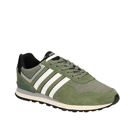 adidas 10K, Scarpe da Ginnastica Uomo, Verde (Vertra/Ftwbla/Negbas), 41 EU