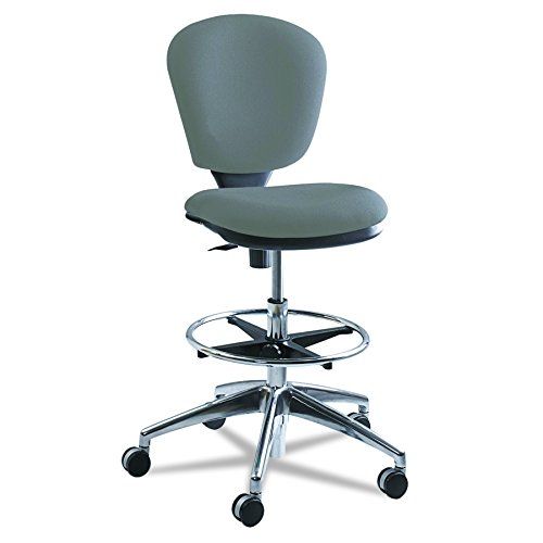 Safco Products 3442GR Metro Extended Height Chair (Additional options sold separately), Gray - Designer Style Fabric Upholstered Chair