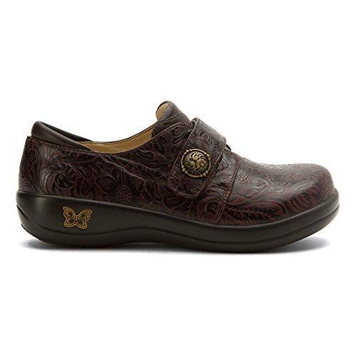 Alegria Women's Loafer Tooled Joleen Molasses zBzqXF