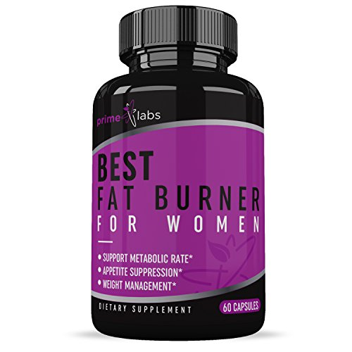Best Fat Burner for Women (60 Capsules) - Promotes Weight Loss - Boost Metabolism - Fight Food Cravings - All-Natural Ingredients - One Month Supply - Prime Labs