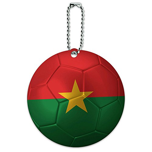 Burkina Soccer Football Luggage Suitcase