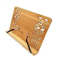 Woopoo Bookrack Table Easel & Cookbook Holder/Typing Stand/Adjustable Easel/Holder Stand/Bible Stand/Desk Easel/Laptop Stand Holder/The Book Holder