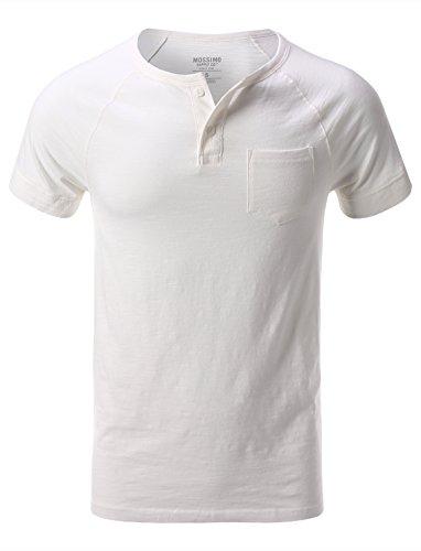 Mossimo Men's Crewneck Henley Short Sleeve