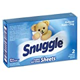 Diversey 2979929 Snuggle Dryer Sheets for