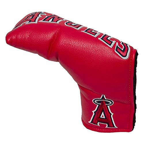 Team Golf MLB Los Angeles Angels Golf Club Vintage Blade Putter Headcover, Form Fitting Design, Fits Scotty Cameron, Taylormade, Odyssey, Titleist, Ping, Callaway