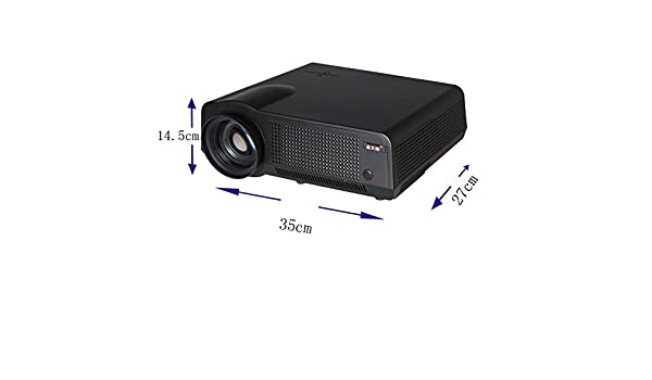 Poner saund led86 W Smart proyector 1080p 2800 lúmenes LED LCD ...