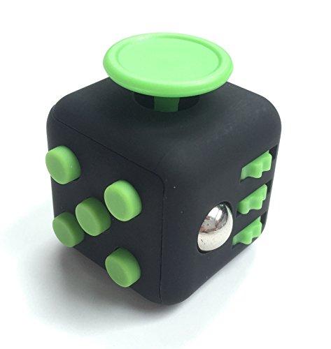 Zen Fidget cube Soft touch. Black green - Cube Zen