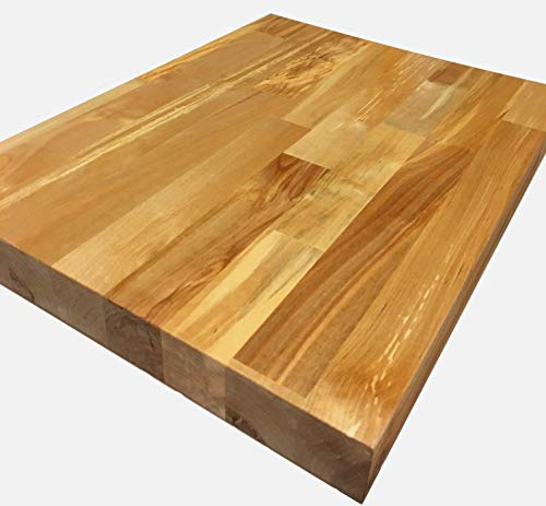 FPD Solid Wood Birch Butcher Block Worktop Workbench UV ()