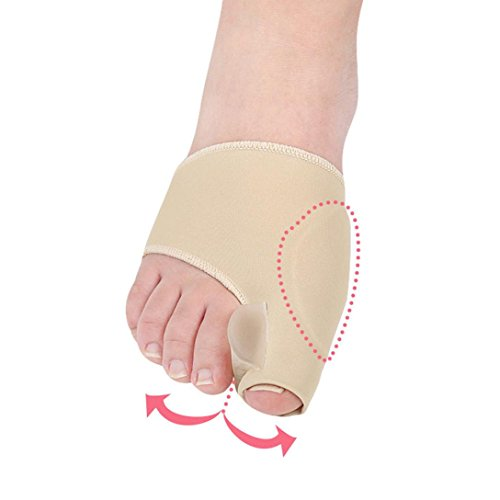 Alonea union Corrector And Bunion Relief Sleeve - Treat Pain In Hallux Valgus, Big Toe Joint, Hammer Toe, Toe Separators Spacers Straighteners Splint Aid Surgery Treatment (Small❤️) by Alonea (Image #2)