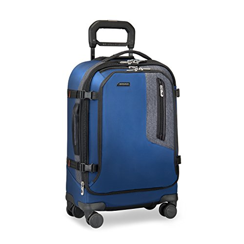 "Briggs & Riley BRX Explore Domestic Expandable 22"" Carry on, Blue"