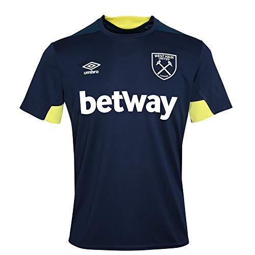 (Umbro 2018-2019 West Ham Training Jersey (Peacot))