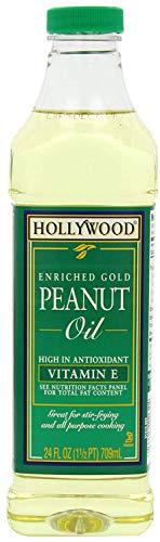 Hollywood Oil Peanut, 24 oz
