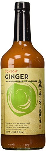 Japanese Dressing (TonTon Award Winning Ginger Japanese Dressing and Marinade (33.8 fl oz))