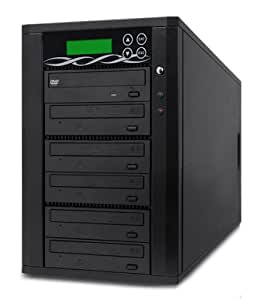 SPARTAN 5 Target SATA Light-Scribe Tower DVD Duplicator D05-SSP-L