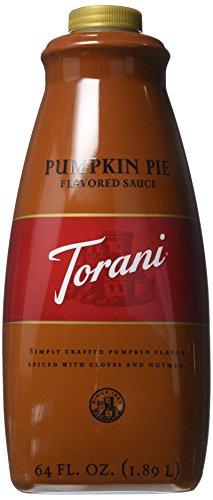 - Torani Pumpkin Pie Sauce(64 Fl Oz)