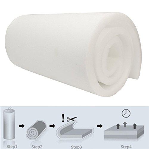 EsportsMJJ 208x60x2.5cm High Density Seat Foam Rubber Replacement Upholstery Cushion Foam