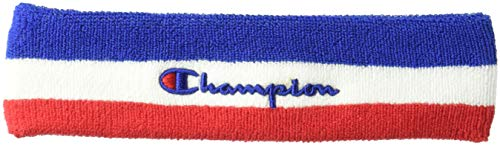 Champion LIFE Men's Terry Headband, surf the web/white/scarlet, OS