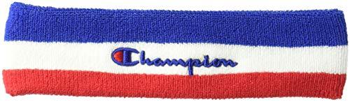 Champion LIFE Men's Terry Headband, surf the web/white/scarlet, ()