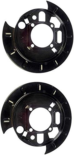 APDTY 035319 Brake Dust Shield Pair