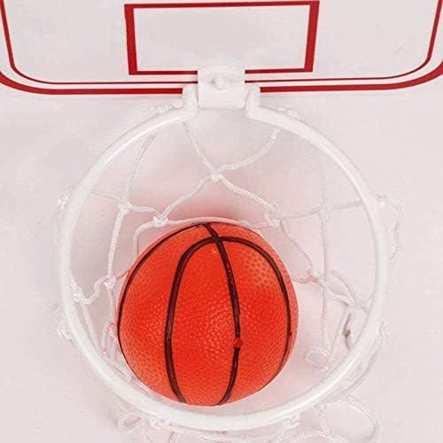 Mini-basketbalsets, met Zuignap En Bal Basketbalring voor Kinderen Wandmontage, voor Kinderen In Het Onderwijs En Basketballiefhebbers