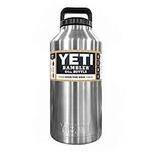 YETI Rambler 64 oz Stainless Steel Vacuum Insulated Bottle ...