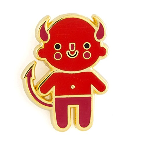 These Are Things Devil Baby Enamel Pin