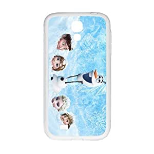 Cool painting Frozen Princess Elsa Anna Kristoff Olaf Hans Cell Phone Case for Samsung Galaxy S4