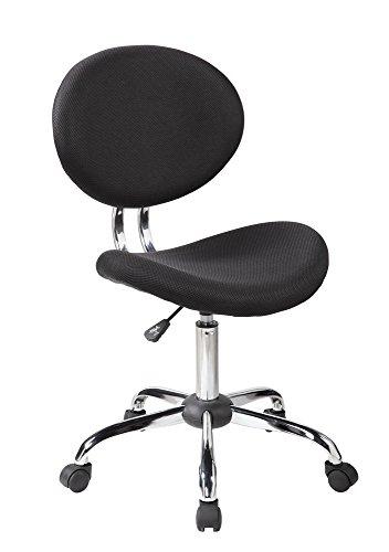 EuroStile Mid-Back Mesh Task Chair Office Desk -1011BK
