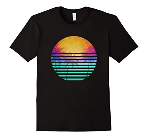 80's Retro Black T-Shirt - 5