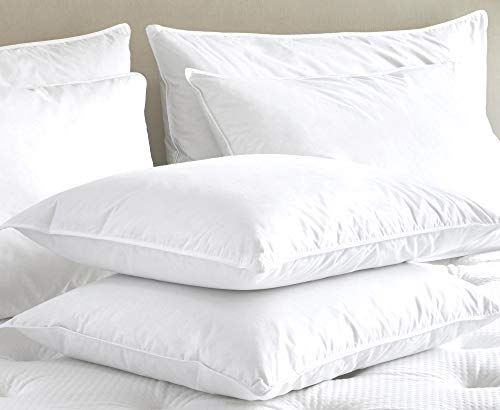 Marriott Official Pillow Hypoallergenic Lyocell Down Pillow With No Shift Support Standard 20 X 26