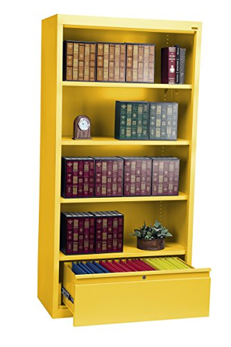 Sandusky Lee BD30361872-EY System Series Bookcase with Fi...