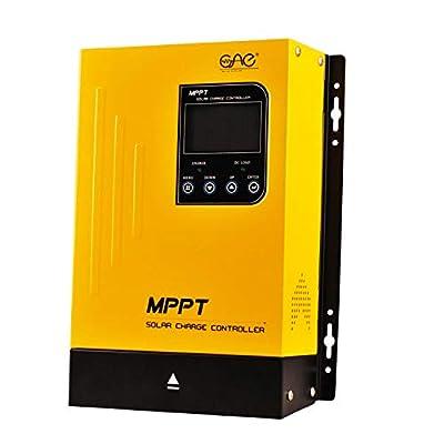 60A MPPT Solar Charge Controller DC 12V24V48V Auto Battery Regulator PV 150V Input MPPT Charge Controller(60A)