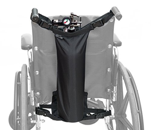 AdirMed Oxygen Cylinder Bag for Wheelchairs (D & E Cylinders) by AdirMed (Image #1)