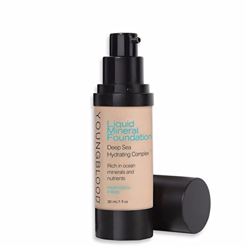 Youngblood Liquid Mineral Foundation, Pebble, 1 Ounce